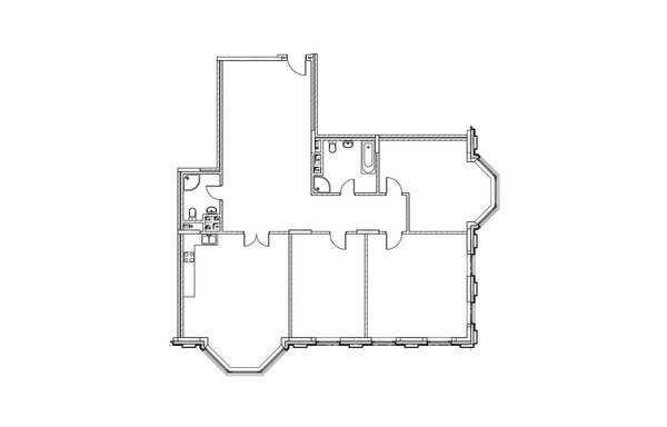 3-комнатная квартира в ЖК на Котельнической набережной 21